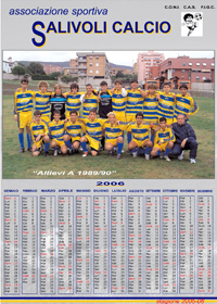 calendario allievi a