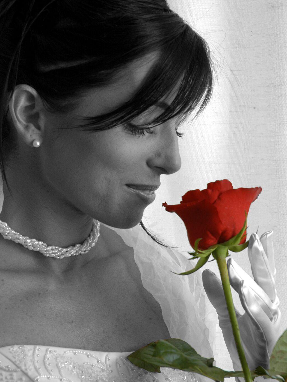 sposa e rosa